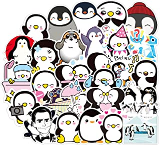 Mr. Popper's Penguins Stickers 50pcs Waterproof Cute Fashion Stickers,Very Suitable for Laptops,Suitcases,Cars,Phones,Skat...
