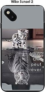 Amazon.fr : Coque Wiko sunset 2 animaux