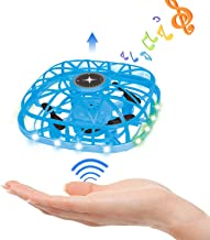 $22 » Drones for Kids & Adults,Mini Drone with Hand Operated & LEDs Light Up & Music Functions Toys for Boys Girls 6 7 8-12 Year...