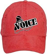 Tommery Unisex The Voice Logo Hip Hop Baseball Caps