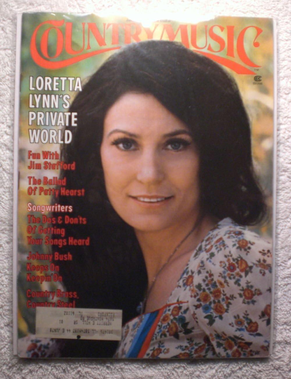 Loretta Lynn Ranking TOP11 - Country Music CMM1 Magazine trend rank 1976 January
