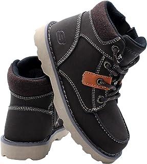Skechers Kids Bowland Boot (Little Kid) - Brown