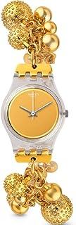 Swatch Women's LK349G Boule D'Or Year-Round Analog Quartz Gold Watch