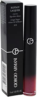 Giorgio Armani Ecstasy Lacquer Excess Lipcolor Shine for Women Lip Gloss, Pink-Out, 0.2 Ounce