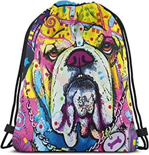 Drawstring Bags Doberman Pinscher Silhouette Floral Storage Pouch Bag Drawstring Backpack Bag Washable Dust-Proof Breathable Non-Transparent Travel Sport Gym Sackpack For Men Women