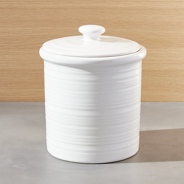 Farmhouse Medium Canister | Crate and Barrel