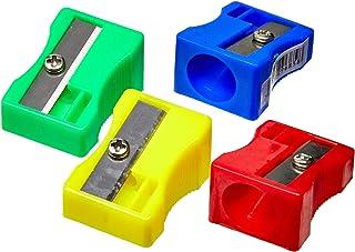 Apontador Sem Deposito Jumbo 1 Furo Cores Sortidas - Caixa com 48 Molin, Multicor