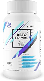 Keto Primal - Keto Weight Loss - Burn Fat - Induce Ketosis Quicker - Help to Balance Weight Loss and Increase Energy - Boost Brain Function as You Burn Fat Faster with exogenous Ketones - Melt it Off
