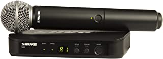 Shure BLX24/SM58 Handheld Wireless System with SM58 Vocal Microphone, J10