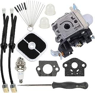 Hayskill RB-K106 Carburetor Carb w Tune Up Kit Fuel Line for Echo PB250 PB250LN ES250 Leaf Blower PB-250 PB-250LN ES-250 Replace A021003660 A021003661