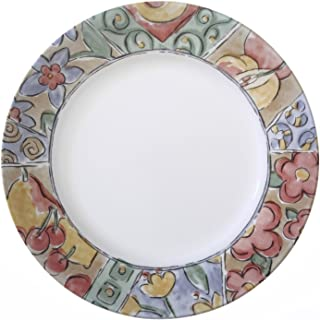 "Corelle Impressions Watercolors 10.75"" Dinner Plate (Set of 4)"