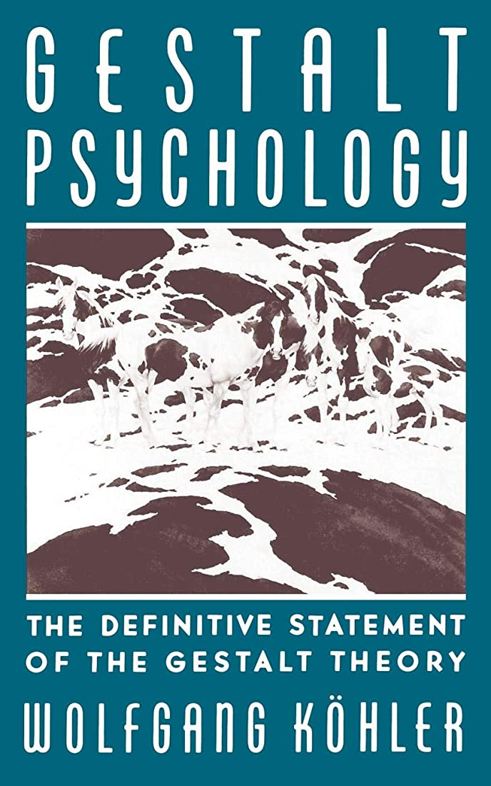 もろい感嘆拘束するGestalt Psychology: An Introduction to New Concepts in Modern Psychology