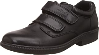 Clarks Boy's Deaton Inf Leather First Walking Shoes