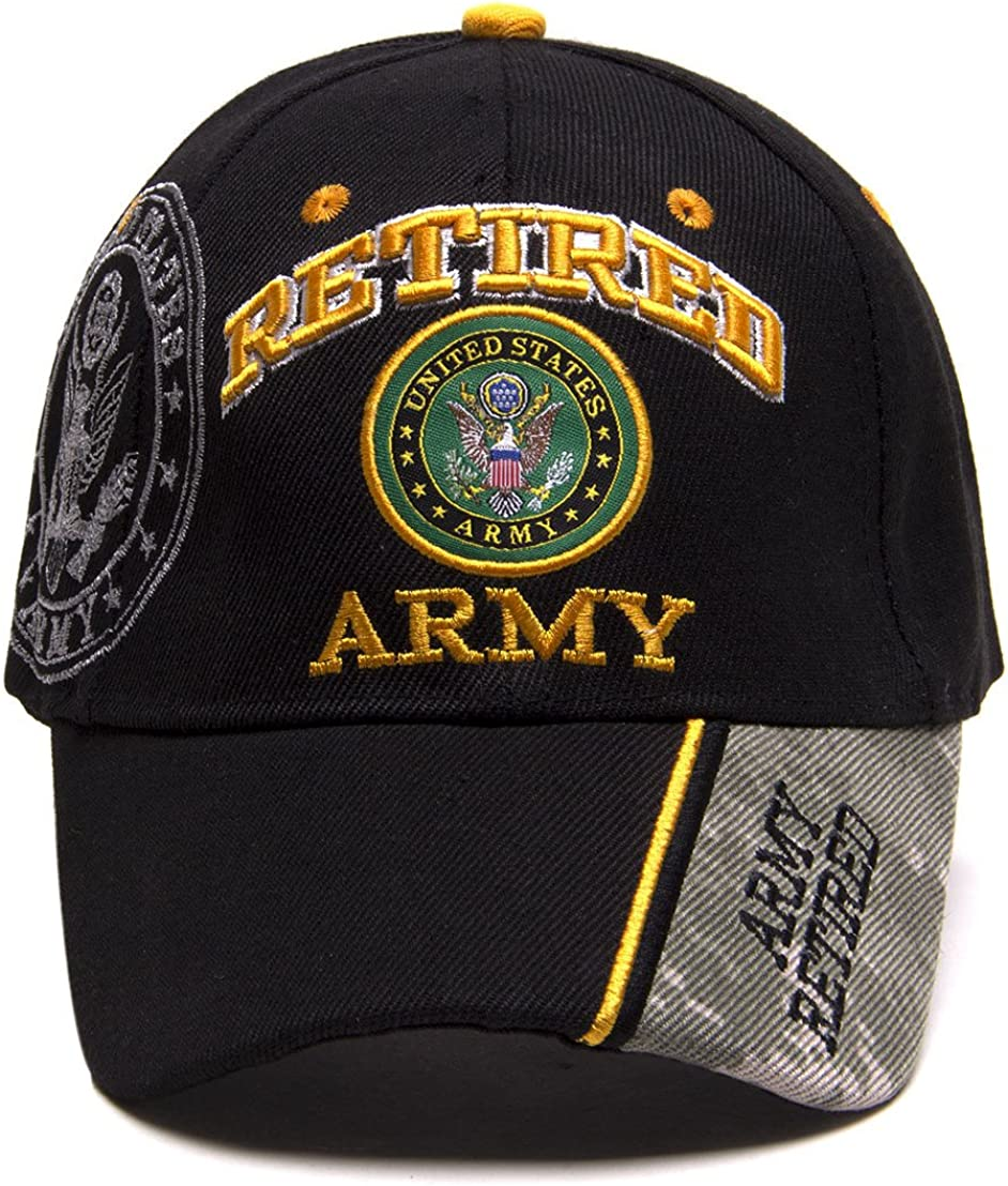 United States Army Fixed price for New life sale Retired Cap Adjustable Hat Shadow