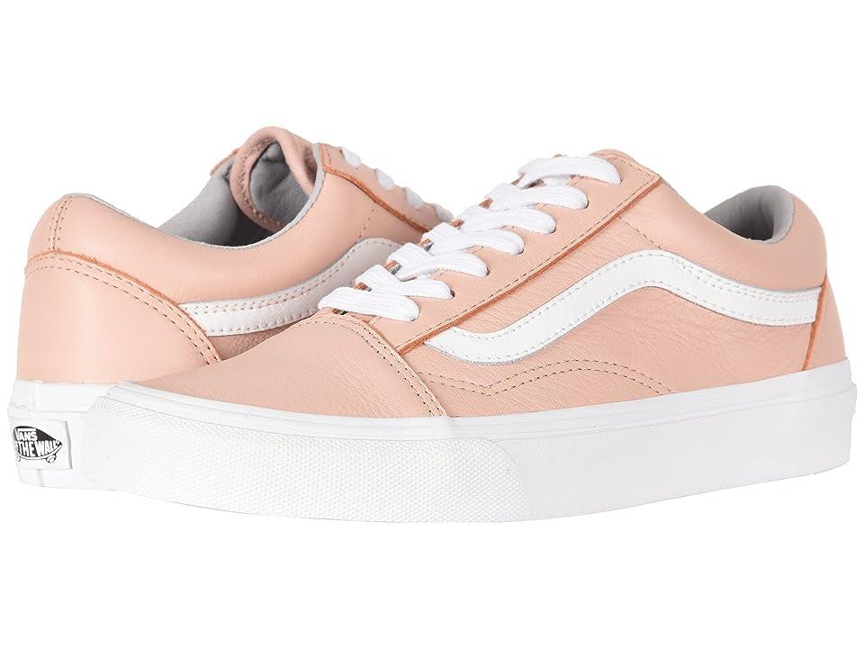 Vans Old Skooltm ((Leather) Oxford/Evening Sand) Skate Shoes