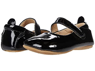 Old Soles Gabrielle (Infant/Toddler) (Black Patent) Girls Shoes