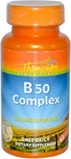 Thompson Vitamin B Complex 50 60 capsules (a)