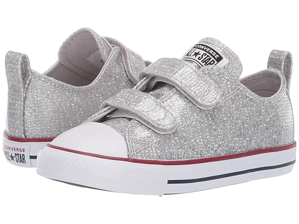 Converse Kids Chuck Taylor All Star 2V Sparkle Ox (Infant Toddler) (Mouse 142c48ab0