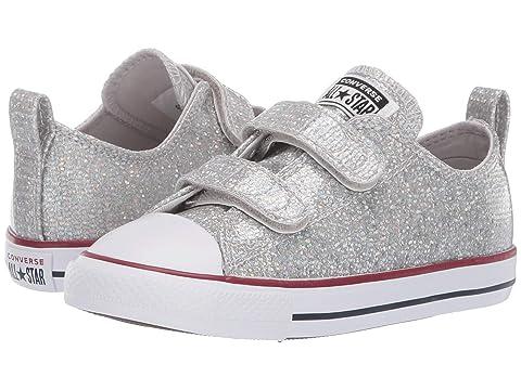 44c9f70c1d61 Converse Kids Chuck Taylor All Star 2V Sparkle - Ox (Infant Toddler ...