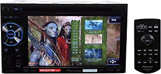 Pioneer AVH-P1400DVD Mobile 2-DIN Multimedia DVD Receiver with 5.8 In. Widescreen Touch Display and USB Direct Control for iPod/iPhone