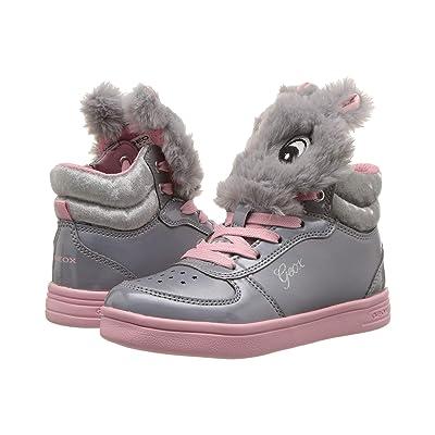 Geox Kids DJ Rock Girl 15 (Toddler/Little Kid) (Grey/Pink) Girl