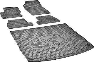 Passende Gummimatten und Kofferraumwanne Set geeignet für Ford Focus Turnier 2011 2018