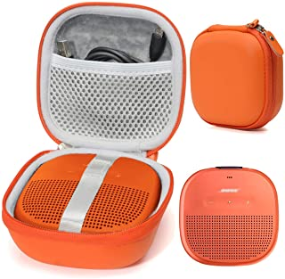 Bright Orange Protective Case for Bose SoundLink Micro Bluetooth Speaker, Best Color and Shape Matching, Featured Secure a...