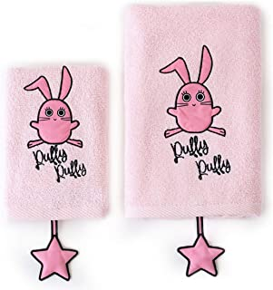 Milk&Moo Chancin Baby Towels Set, Baby Bath Set, Kids and Toddler Bath Towels, Cotton and Quick Dry Towel, Cute Animal Des...