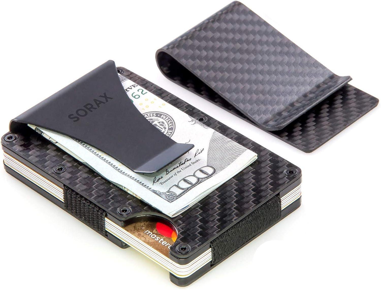 Sorax Carbon Fiber Wallet & Money Clip