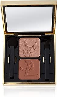Yves Saint Laurent Eye Shadow Duo Compact 0.09 Oz Shade # 31 - Midnight Blue/solar Gold NIB