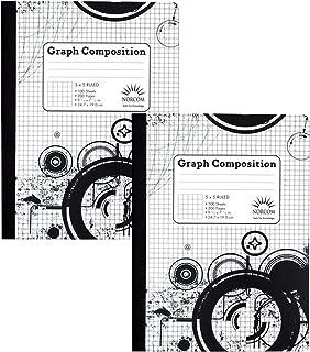 Best 5x5 graph notebook Reviews