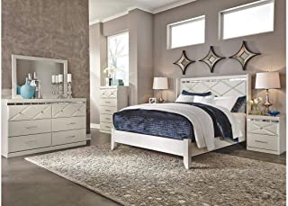 Amazing Buys Dreamur Bedroom Set by Ashley Furniture - Includes, Twin Bed Dresser, Mirror