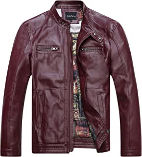 14b124781 Amazon.com: Reds Men's Leather & Faux Leather Jackets