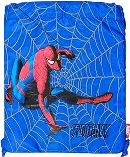 Marvel Spiderman Drawstring Bag - Webcrawler Nylon String Sack [Toy]