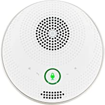 Bluetooth Speakerphone - Yamaha UC YVC-200 Wireless Mobile Conference Phone, Portable USB Speakerphone for Conferencing (White)