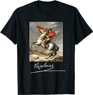 Napoléon Bonaparte Jacques-Louis David Néoclassicisme Art T-Shirt