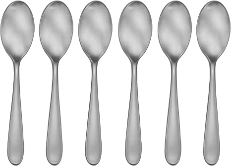 Amazon Com Craftkitchen Open Stock Stainless Steel Satin Classic Flatware Sets Cocktail Spoons Flatware Sets