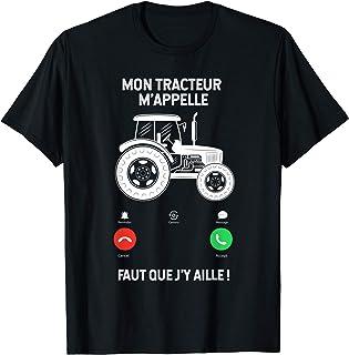 TEEZILY Sweat /à Capuche Unisex Tracteur Agriculteur dans ma t/ête