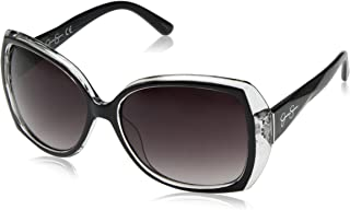 Jessica Simpson Women's J5234 Over-Sized Butterfly Sunglasses with 100% UV Protection, 70 mm