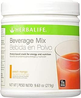 Herbalife Beverage Mix Canister Peach Mango