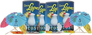 Coco Lopez - Real Cream of Coconut - 15 Ounce Can - Original Fresh Authentic Coconut Cream Bundle (Pack Of 3) - Comes with...