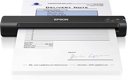Epson Workforce ES-55R Portable Sheet-fed Document Scanner Accounting Edition for PC and Mac