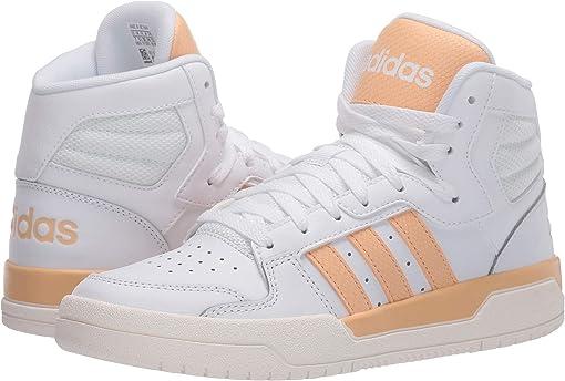 Footwear White/Glow Orange/Cloud White