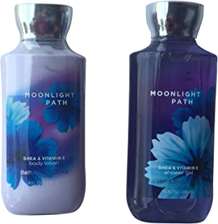 Bath & Body Works Moonlight Path Gift Set- 2 products 1 each shower gel and body lotion
