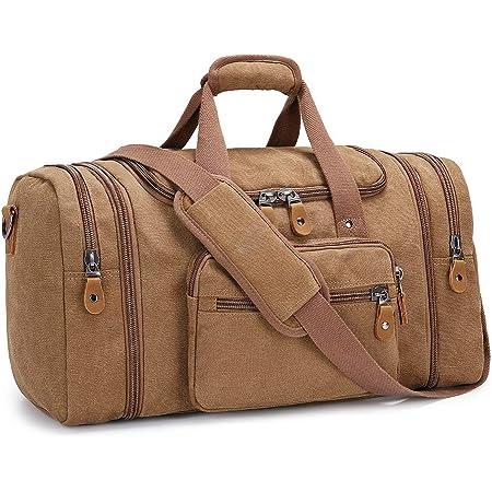 Bolsa de viaje para hombre, de la marca Plambag, 50 litros, café (Marrón) - PB058CE-UK
