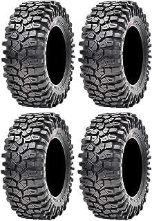Full set of Maxxis Roxxzilla Radial (8ply) ATV Tires 32x10-14 (4)