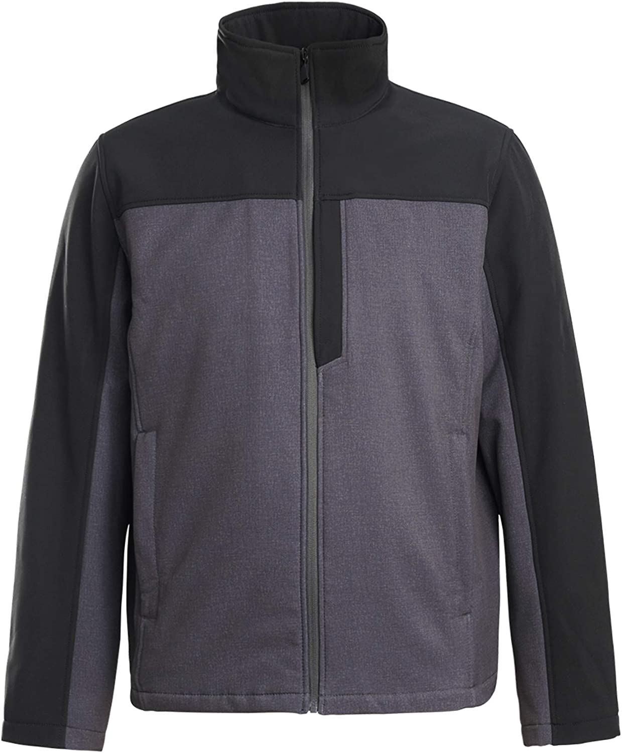 XPOSURZONE Men's Water Resistance Softshell 3-Layer Colorblock Jacket