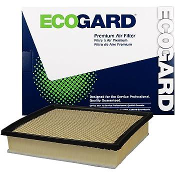 ECOGARD XA10242 Premium Engine Air Filter Fits Toyota Tacoma 3.5L 2016-2019, Tundra 5.7L 2014-2020, Tundra 4.6L 2014-2019, Sequoia 5.7L 2014-2020