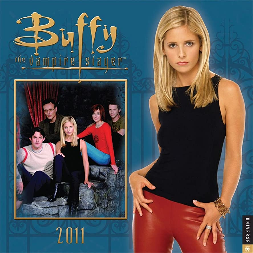 分布空いている新しさBuffy the Vampire Slayer: 2011 Wall Calendar