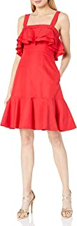 Jill Jill Stuart Women's Ruffle Tiered Spaghetti Strap Dress